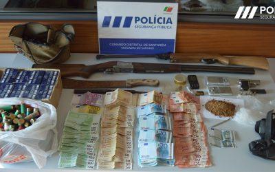 Homem de 45 anos detido pela PSP por tráfico de droga
