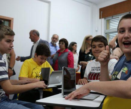 FOTOS | Inaugurada terceira sala do futuro no concelho de Santarém