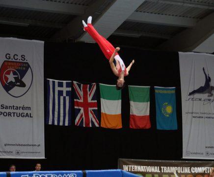 VÍDEO | Maior competição internacional de ginástica de trampolins junta 670 atletas em Santarém