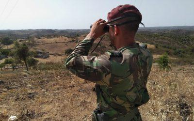 Militares reforçam vigilância de incêndios em Santarém