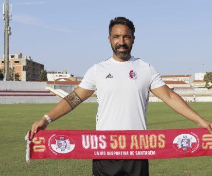 """""""Iniciei-me na União de Santarém aos oito anos e voltar como treinador é uma honra"""""""
