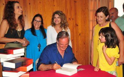 Manuel Fernandes Vicente apresentou O Vento das Sete Serras com casa cheia
