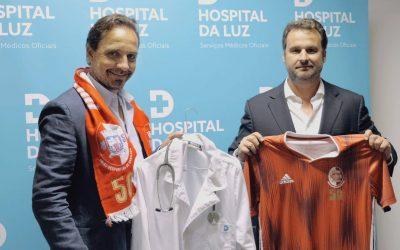 UD Santarém e Hospital da Luz assinam protocolo para as próximas três épocas