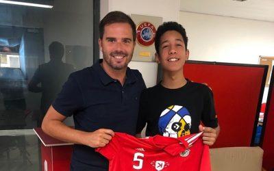 Atleta do Vitória Clube de Santarém assina pelo SL Benfica