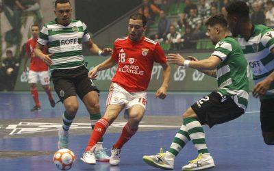 Benfica e Sporting disputam Supertaça de Futsal em Torres Novas