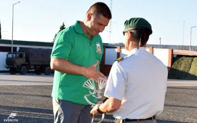Militar português vence medalha de bronze na maior prova europeia de pára-quedismo em V. N. da Barquinha