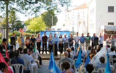 CDU apresenta a lista de candidatos pelo círculo eleitoral de Santarém