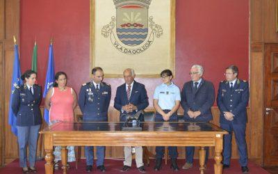 Câmara da Golegã atribui Voto de Louvor e Medalha do Concelho ao Comando da GNR de Santarém