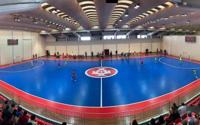 Selecção sub-19 de futsal perde com Espanha na preparação para Europeu em Santarém
