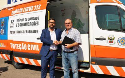 Município de Rio Maior cede viatura de Comando e Comunicações aos Bombeiros Voluntários