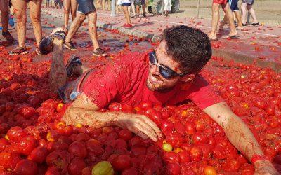 'Maior briga de tomate do país' está de regresso a Almeirim