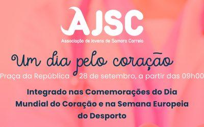 Jovens de Samora Correia celebram Dia Mundial do Coração
