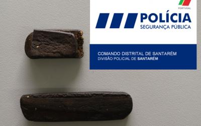 Mulher detida em Santarém por tráfico de droga