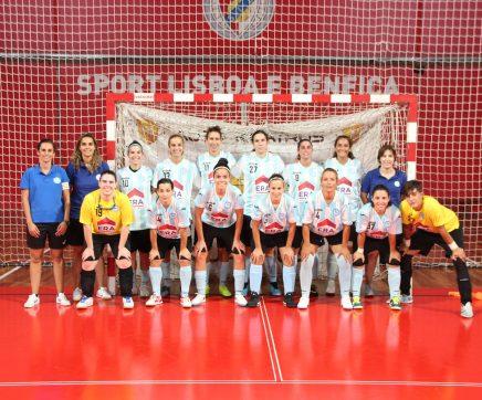 Vitória Clube de Santarém foi convidado de honra na apresentação do futsal do SL Benfica