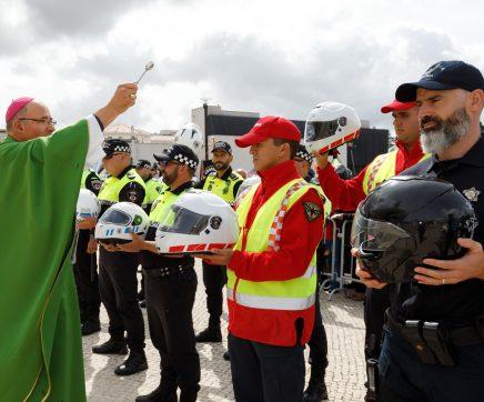 Papa pede aos 130 mil motociclistas reunidos em Fátima para não arriscarem vida