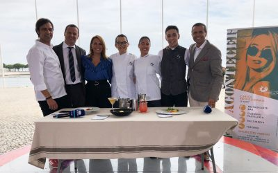Alunos premiados da EPVT no programa sobre viagem de Fernão Magalhães na RTP