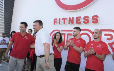 O novo ginásio Fitness Factory em Santarém
