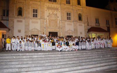 Associação Nacional Karaté Portugal apresenta-se no Largo do Seminário