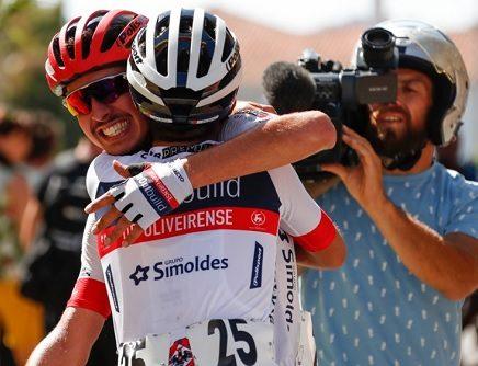 Rafael Lourenço ganhou a segunda etapa da Volta a Portugal do Futuro