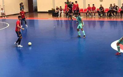 Seleção portuguesa sub-19 de futsal volta a perder particular contra Espanha