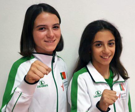 Atletas de Almeirim representam Portugal no Europeu de Taekwondo