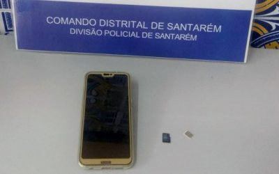 Detido por furto de telemóvel em clínica dentária em Santarém