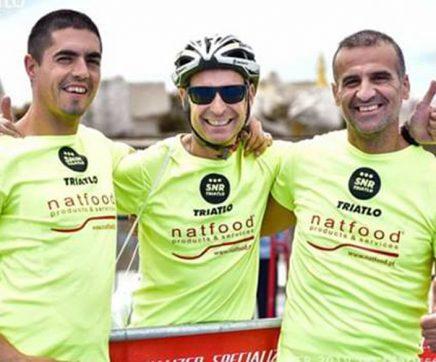 Atletas do SNR presentes no Triatlo de Ervideira