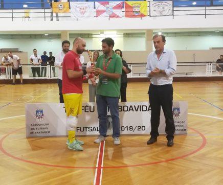Ferreira do Zêzere vence 'Troféu Luís Boavida' em Futsal