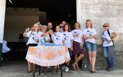 VÍDEO | Promotor mostra aos turistas a arte de fazer vinho no Ribatejo