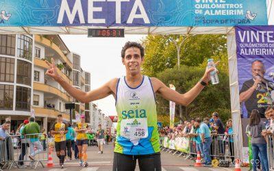 Ricardo Figueiredo e Abigail Santana conquistam os 20 quilómetros de Almeirim