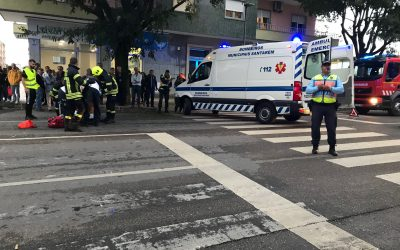 Jovem atropelada na passadeira em Santarém