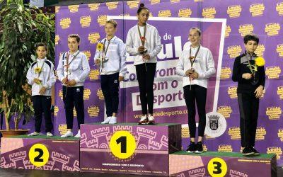 Três ginastas da Selecção Distrital de Santarém medalhados em Loulé