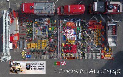 VÍDEO | Bombeiros Sapadores de Santarém aderem ao 'Tetris Challenge'