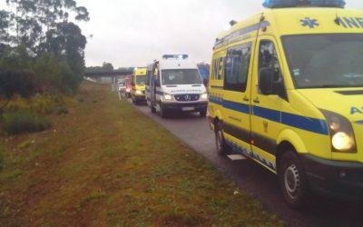 Acidente na A1 provoca quatro feridos