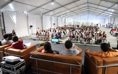 VÍDEO | Cientistas de 'palmo e meio' apresentam projectos de investigação escolar num congresso em Alcanede