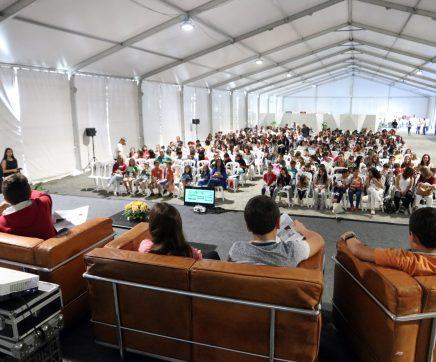 VÍDEO   Cientistas de 'palmo e meio' apresentam projectos de investigação escolar num congresso em Alcanede