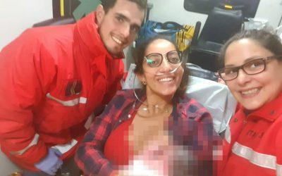 Bombeiros de Fátima realizam parto em ambulância