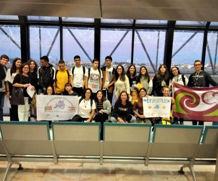 Alunos do Agrupamento de Escolas Marcelino Mesquita do Cartaxo em visita a Áustria
