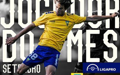 Daniel Bragança eleito melhor jogador do mês da Segunda Liga