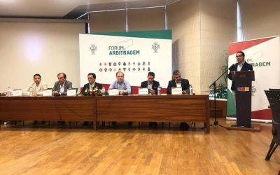 Fórum de arbitragem discute futuro do sector em Almeirim