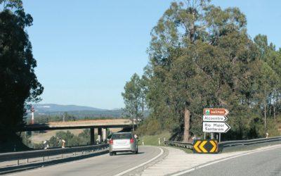 Nó de acesso do IC2 a Rio Maior reabre ao trânsito