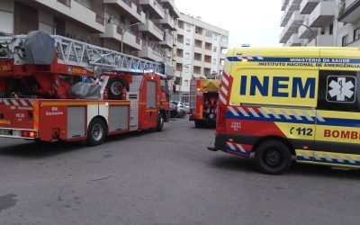 Incêndio em habitação mobiliza bombeiros em Santarém