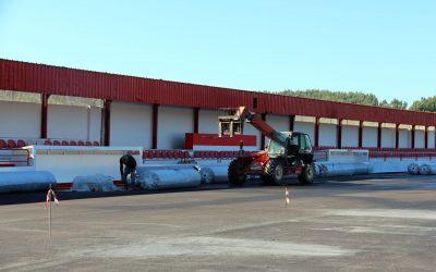 Obras no Campo da Azenha em Amiais de Baixo quase concluídas