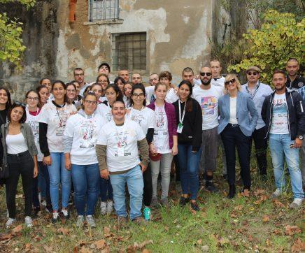 Estudantes do IPSantarém realizam praxe académica na Mata do Município