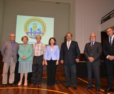 VÍDEO   Escola Secundária Sá da Bandeira presta homenagem a antigos Presidentes e Directores
