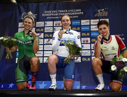 Tata Martins conquista primeira medalha para Portugal no Europeu de Ciclismo