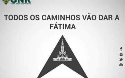GNR pede cautela e alerta condutores para milhares de peregrinos nas imediações de Fátima