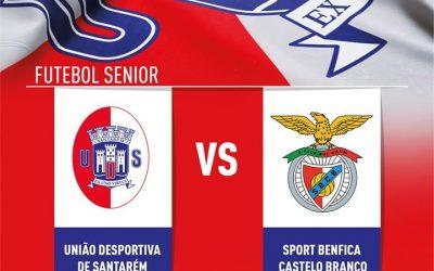 Correio do Ribatejo oferece bilhetes para jogo da UDS contra o Benfica de Castelo Branco