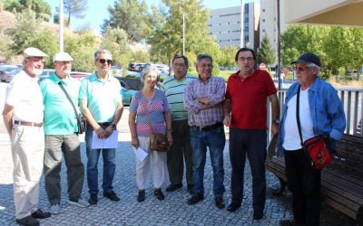 Utentes criticam atraso das obras na urgência do Hospital de Abrantes