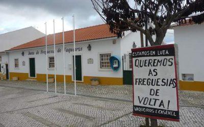 """Plataforma promete """"voltar à luta"""" pela recuperação das freguesias"""
